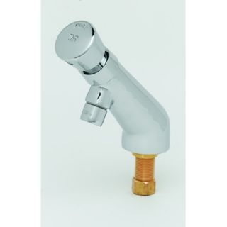 Brass Single Hole Metering Faucet with Single Push Handle   B