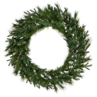 Vickerman Glacier Mixed Pine 60 Wreath with Clear Lights