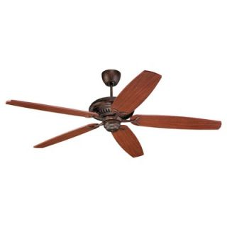Monte Carlo Fan Company 60 DC60 5 Blade Ceiling Fan with Remote