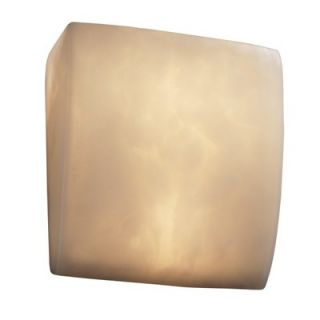 Justice Design Group Clouds Two Light ADA Wall Sconce with Resin Shade