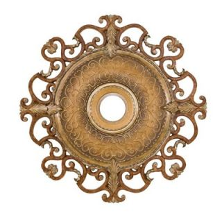 Minka Aire Napoli 38 Ceiling Medallion in Tuscan Patina   CM7038