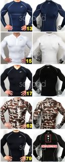Long Sleeves Shirts 10styles M 2XL Sports Base Under Layer Golf