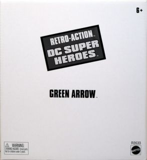 Green Arrow Retro Action DC Super Heroes Figure Oliver Queen Exclusive