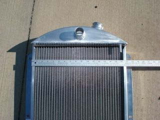 1937 Chevy Griffin Aluminum Radiator Street Rod