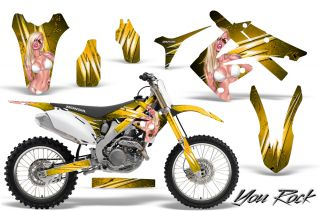 CRF 250 10 12 & CRF450 09 12 GRAPHICS KIT DECALS STICKERS CREATORX YRY