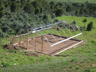 20 x 60 ft Greenhouse Kit Package Commercial Hoop House
