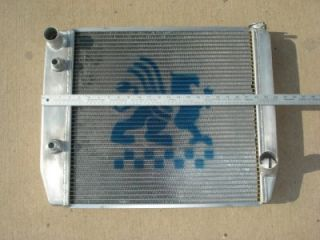 Chevy Drag Race Car Griffin Aluminum Radiator #21 25202 D 29x19 Oil