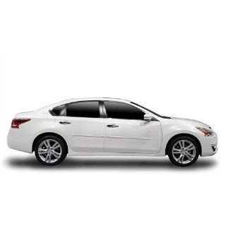 2013 Nissan Altima Body Side Moldings (Custom Painted White Pearl QAB