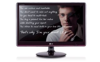 LG E2750VR SN 27 Inch Widescreen LED LCD Monitor with Super Resolution