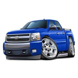 2007 Chevy Silverado Truck Wall Decal Graphic Decor 36