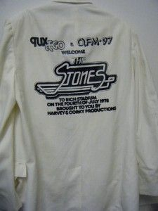 JULY 1978 PROMO ROLLING STONES CONCERT TUX JACKET