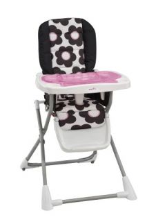 features of evenflo compact fold high chair marianna easy clean up