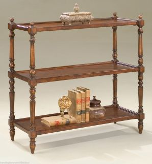 HAVERFORD 3 TIER INLAID TABLE   DISPLAY CONSOLE   *