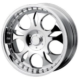 DIP D21 20x8.5 Chrome Wheel / Rim 6x5.5 with a 12mm Offset and a 108