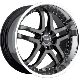 Prado Dante 20 Machined Black Wheel / Rim 5x115 & with a 40mm Offset