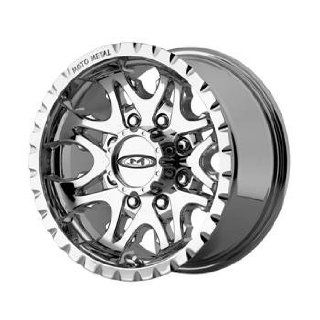 Moto Metal MO950 16x8 Chrome Wheel / Rim 6x5.5 with a 0mm