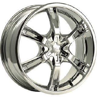 Cruiser Alloy Raptor 17x7.5 Chrome Wheel / Rim 5x110 & 5x115 with a