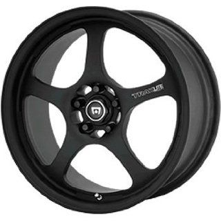 Motegi Traklite 15x7 Black Wheel / Rim 4x100 with a 35mm Offset and a