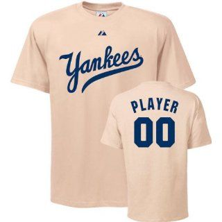 York Yankees T Shirt Any Player Cooperstown Name and Number T Shirt