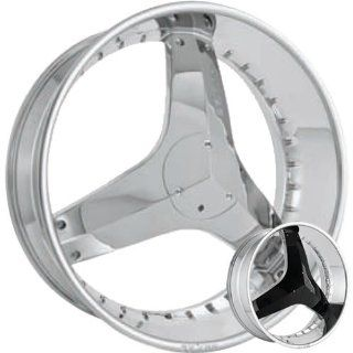 Starr Killa 24 Chrome Wheel / Rim 6x135 & 6x5.5 with a 18mm Offset and