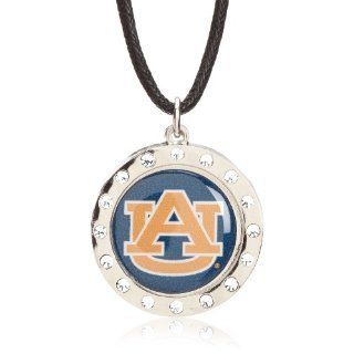 NCAA Auburn Tigers Crystal Circle Necklace Sports