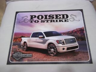 2012 Ford F150 Harley Davidson Pick Up Truck Poised to Strike Hero