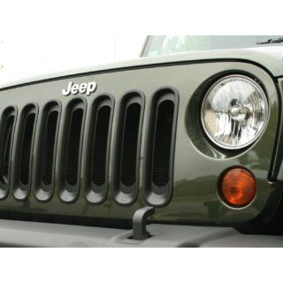 Jeep Wrangler Chrome Grille Inserts    Automotive