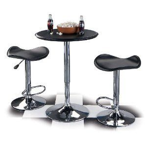Home Style Bar Table Adjustable Vinyl Covered Fast SHIP New