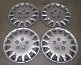 03 04 05 06 07 HONDA ACCORD WHEEL COVERS / HUB CAPS SET of 4 GENUINE