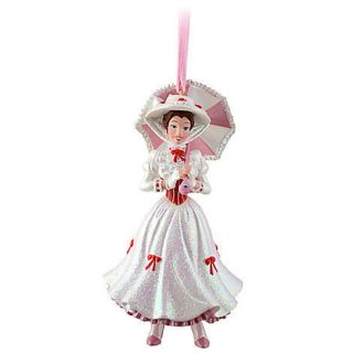 World Parks Mary Poppins Figure Christmas Holiday Tree Ornament