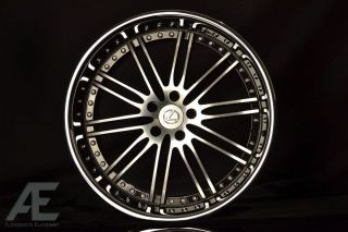 inch Lexus LS400 LS430 LS460 Wheels Rims Hennessey Diamond Cut