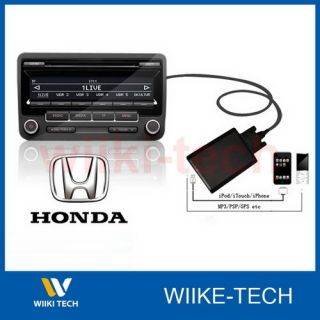 Honda iPod iPhone Aux In Interface Adapter Kit Accord Civic CRV Jazz