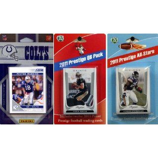 NFL Indianapolis Colts Licensed 2011 Score Team Set with