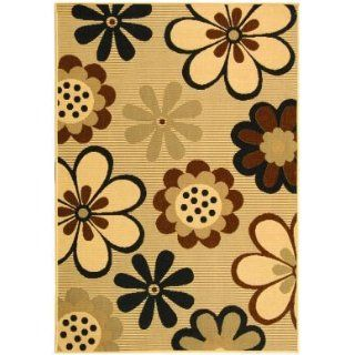 Safavieh Courtyard CY4035D Natural Brown and Black Country