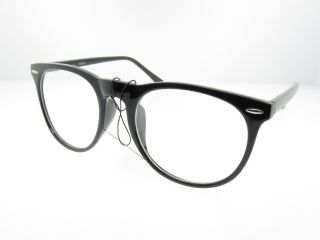 Nerdy Horn Rimmed Clear Lens Fashion Glasses