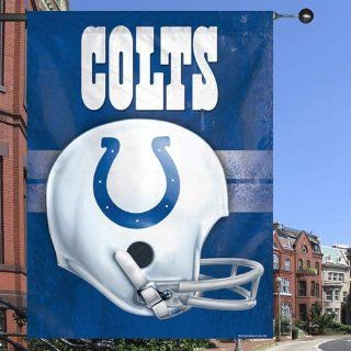 NFL Indianapolis Colts 27 x 37 Throwback Helmet Vertical