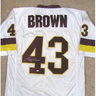 Larry Brown Autographed Throwback Custom Jersey