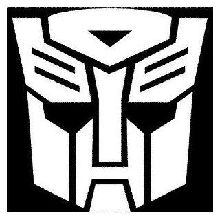 TRANSFORMERS AUTOBOT   Car, Truck, Notebook, Vinyl Decal Sticker #1036