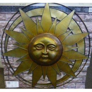Sun Face Wall Art Decor Collection