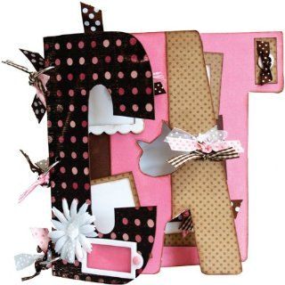Bo Bunny My Big Fat Word Chipboard Album 9X9 3 P