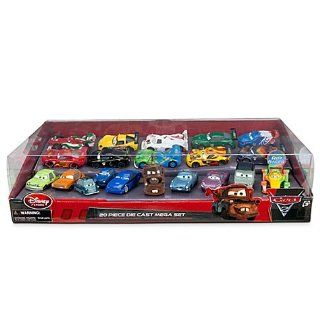 Disney / Pixar CARS 2 Movie Exclusive 20 Piece Die Cast Mega Set, 148