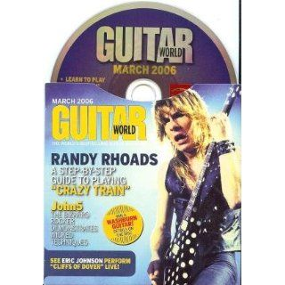 Guitar World CD, March 2006 (Randy Rhoads Crazy Train