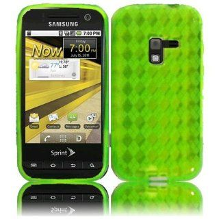 Neon Green TPU Candy Case Cover for Metro PCS Samsung