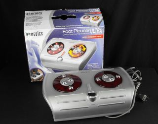 Homedics Foot Pleaser Ultra Deep Kneading Foot Massager with Infrared