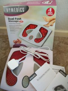 Homedics Dual Foot Massager in Good Condition with Heat