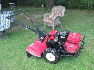 Honda FRC800 Commercial Rear Tine Tiller What A Work Horse