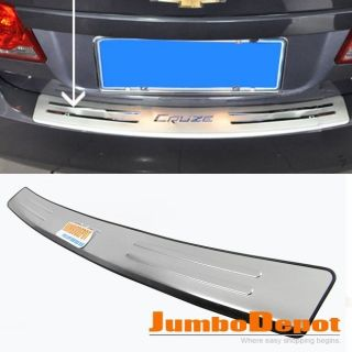 Trunk Bumper Protector Stainless Steel Plate for Honda Fit Jazz