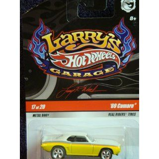 Hot Wheels Larrys Garage Real Rider Series 69 Camaro