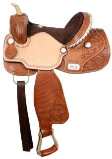 Tree Barrel Saddle in MED Oil by TT SHARP  Western Horse Tack NEW