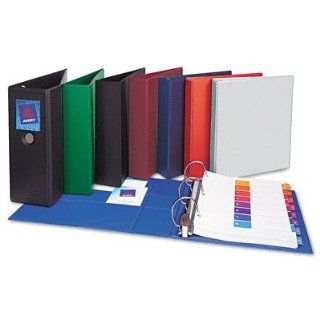 Nonstick Heavy duty EZDTM ring binder with OneTouchTM open